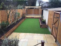 artificial grass project 6